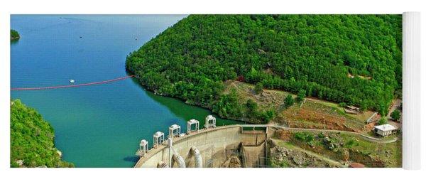 Smith Mountain Lake Dam Yoga Mat