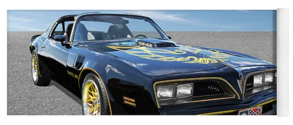 Smokey And The Bandit Trans Am Yoga Mat