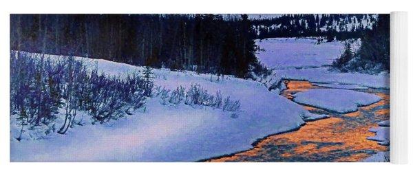 Snow River Yoga Mat