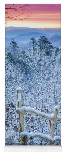 Snow Trail Yoga Mat