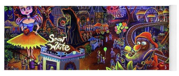 Snow White Amusement Park Yoga Mat