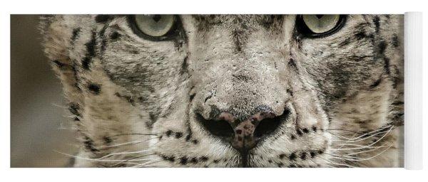 Snowleopardfacial Yoga Mat