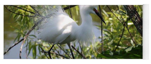 Snowy Egret 4031202 Yoga Mat