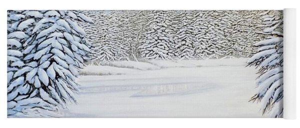 Snowy River Yoga Mat
