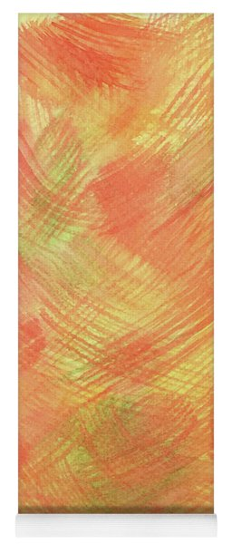 Soft Orange Colors 2 Yoga Mat