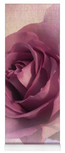 Softly Muted Rose Yoga Mat