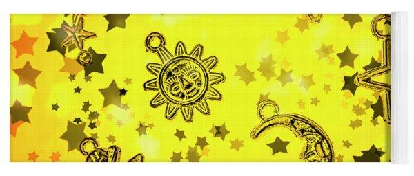 Solar Stars Yoga Mat
