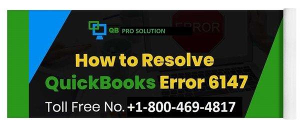 Solution Quickbooks Web Connector Error 6147,0 Yoga Mat