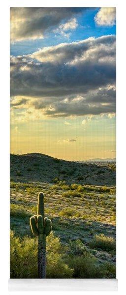 Sonoran Desert Portrait Yoga Mat