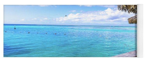 South Pacific Ocean Morning Yoga Mat