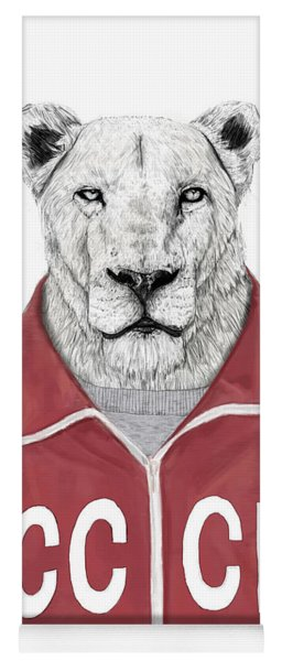 Soviet Lion Yoga Mat