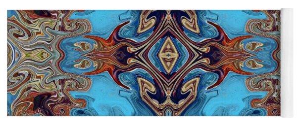 Yoga Mat featuring the digital art Soy Un Moresco  by A zakaria Mami