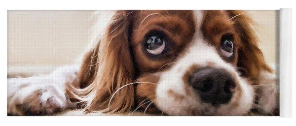 Spaniel Puppy Dwp2785074 Yoga Mat