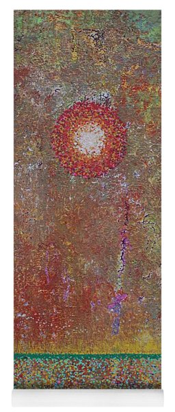 Sparkling Marsh Original Painting Yoga Mat