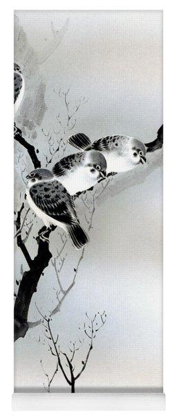 Sparrows Yoga Mat