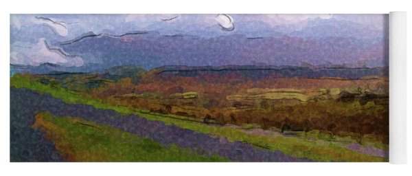 Spean Bridge Painting Yoga Mat