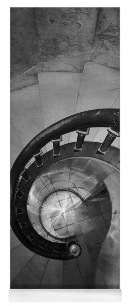 Spiral Staircase, Lakewood  Cemetary Chapel Yoga Mat