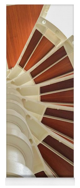 Spiral Stairs Above Yoga Mat