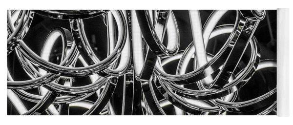 Yoga Mat featuring the photograph Spirals Of Light by Geraldine Gracia
