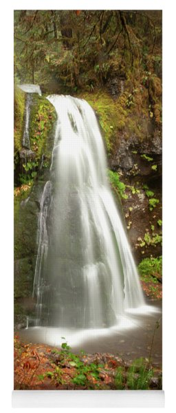 Spirit Falls Vertical Version Yoga Mat
