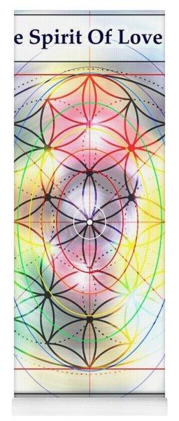 Spirit Of Love Of Peter Schalow Yoga Mat