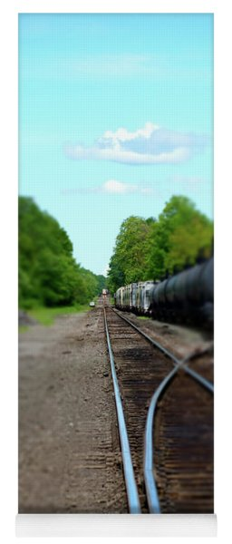 Split Rail Yoga Mat
