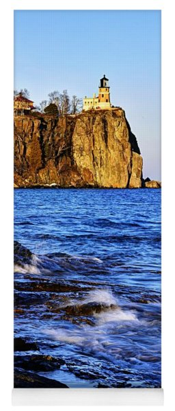 Split Rock Lighthouse Yoga Mat