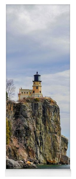 Split Rock Lighthouse Portrait Yoga Mat