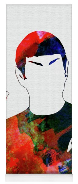 Spock Watercolor Yoga Mat