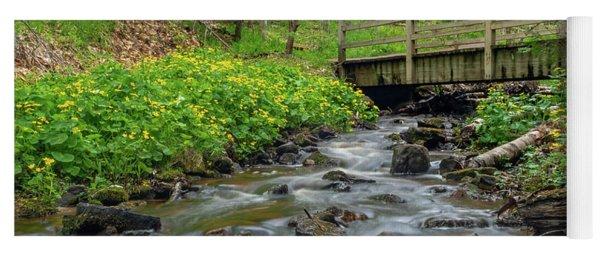 Spring At Munising Creek Yoga Mat