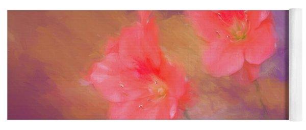 Spring Azalea Yoga Mat