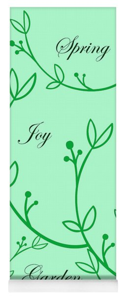 Spring Green Yoga Mat