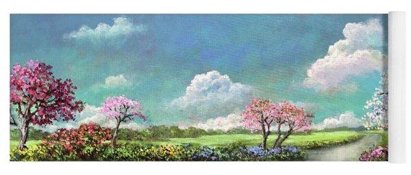 Spring In The Garden Of Eden Yoga Mat