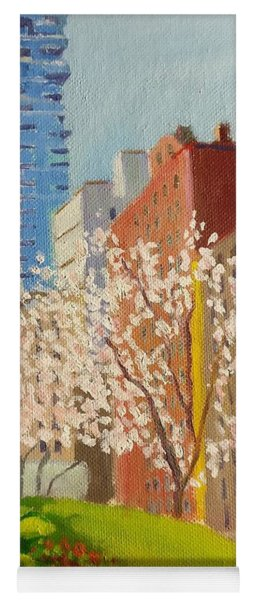 Spring In Worth St Yoga Mat