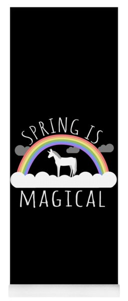 Spring Is Magical Yoga Mat