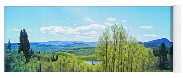 Yoga Mat featuring the photograph Spring On The Western Slope Colorado by Mike Braun