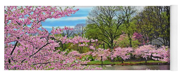 Spring Perfection Branch Brook Park Yoga Mat