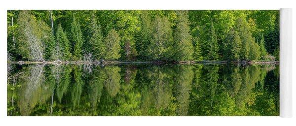 Spring Reflections Yoga Mat