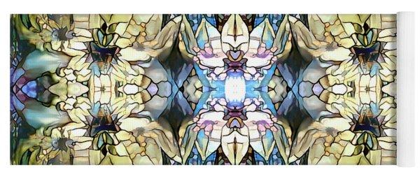 Yoga Mat featuring the digital art Springtime Joy by Missy Gainer