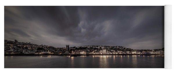 St Ives Cornwall - Dramatic Sky Yoga Mat