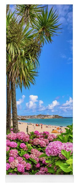St Ives Cornwall - Summer Time Yoga Mat