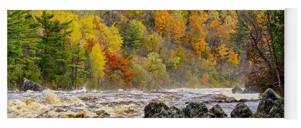 St. Louis River At Jay Cooke Yoga Mat