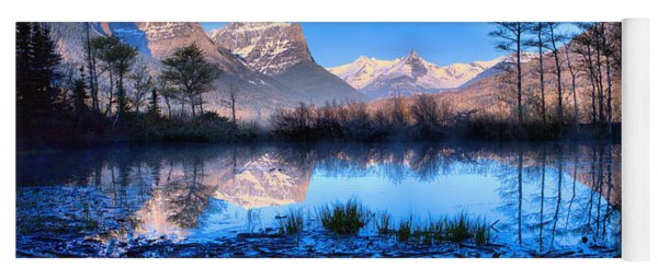 St Mary Driftwood Pond Reflections Yoga Mat