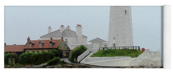 St Mary's Lighthouse Yoga Mat