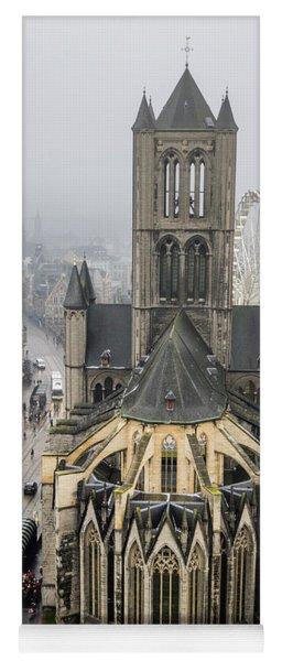St. Nicholas Church, Ghent. Yoga Mat