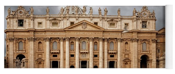 St. Peter's Basilica Yoga Mat