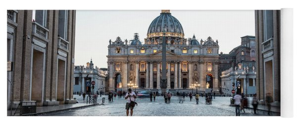 St. Peter's Square  Yoga Mat