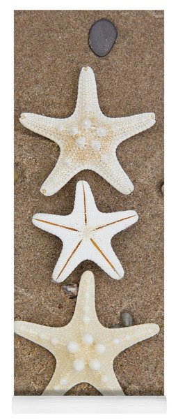 Starfish In The Sand Yoga Mat