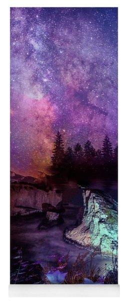 Starry Night Yoga Mat
