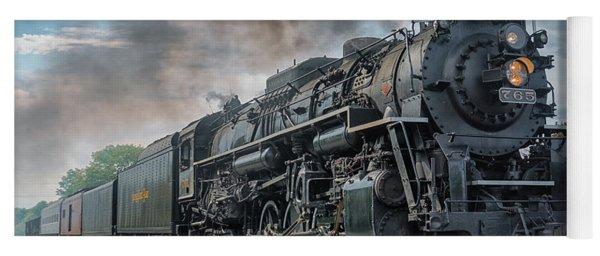Steam Train  Yoga Mat
